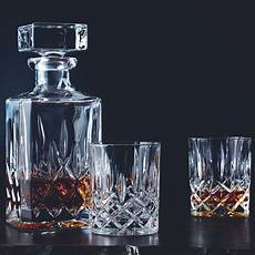 Nachtmann Noblesse Decanter And Whisky Glass Set
