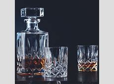 Nachtmann Noblesse Crystal Decanter and Whisky Glass Set