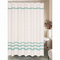 shower curtains with green white waffle shower curtain with green stripe polyester