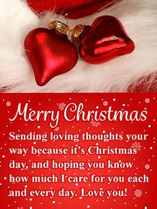 heart ornaments merry christmas card birthday greeting cards by davia