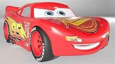 Cars Malvorlagen Lightning Mcqueen Lightning Mcqueen Cars 3 Character 3d Model Cgtrader