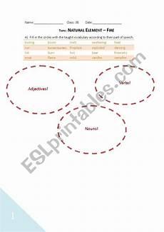 nature elements worksheets 15116 element worksheet esl worksheet by johnson0802