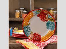 "The Pioneer Woman Blossom Jubilee 10.5"" Dinner Plate Set"