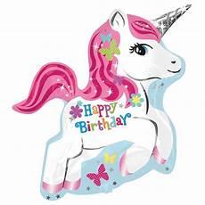 Einhorn Ausmalbild Geburtstag Folienballon Einhorn Mit Aufschrift Einhorn Ideen