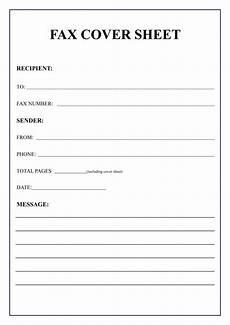 free fax cover sheet template pdf word docs faq