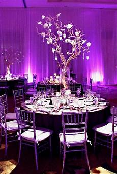 Purple And Green Wedding Reception Ideas