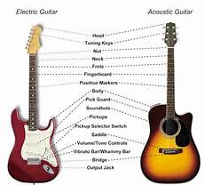 guitar anatomy understanding the different parts of the guitar