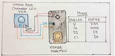 change rgb led connected to esp12e from web page using knob hackster io