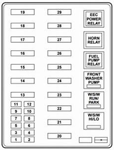 1999 lincoln navigator fuse box location lincoln navigator i mk1 generation 1998 2002 fuse box diagram auto genius