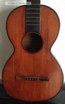 Gitarre Antique Guitar For Restoration Label P J