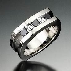 mens black diamond wedding rings wedding and bridal inspiration