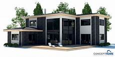 Modernes Einfamilienhaus Grundriss - modern house ch17 with detailed floor plans