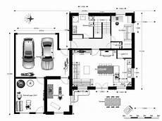 Grundriss Haus Mit Garage - grundriss mit garage