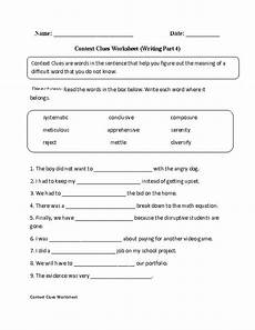 context clues worksheets writing part 4 advanced englishlinx com board pinterest context