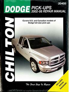 what is the best auto repair manual 2008 chrysler 300 engine control 2002 2008 dodge pick up truck chilton repair manual