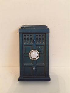 tardis doorbell doorbell color changing paint tardis