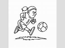 Sport   voetbal kleurplaten :: Kleurplatenpagina.nl