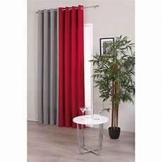 rideaux gris rideau satin gris 140x260cm