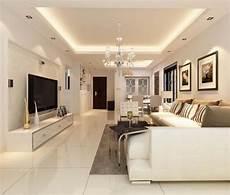 abgehangte decke wohnzimmer abgeh 228 ngte decke mit indirekter beleuchtung als dekoration