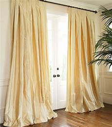 Silk Drapery Panels by Striped Silk Taffeta Drapery Window Treatment Silk