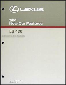 car repair manuals online pdf 2001 lexus ls instrument cluster 2001 lexus ls 430 features manual original