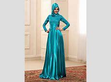 Floor Length A Line High Neck Long Sleeve Color Muslim