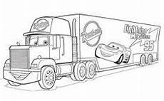 Malvorlagen Cars Mack Disney Cars Zum Ausmalen 04 Kinderparty