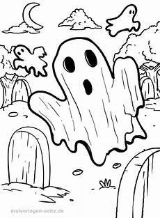 Geister Malvorlagen Ausmalbilder F 252 R Kinder Malvorlage Geist Gespenst