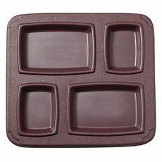 cook s 4 compartment insulated gator meal tray cook s direct