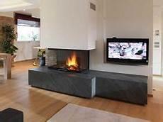 camini termoventilati a legna caminetto moderno a parete con panca camini