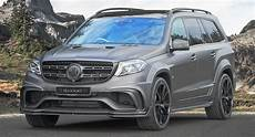 Mansory S Widebody Mercedes Amg Gls 63 Slams 830 Hp To The