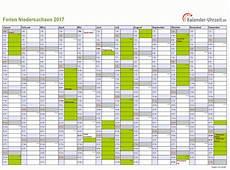 ferienkalender 2017 niedersachsen ferien niedersachsen 2017 ferienkalender zum ausdrucken