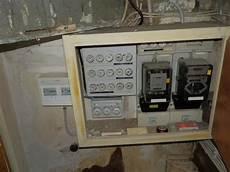 Verteilung Erneuern Strom Elektro Sicherung
