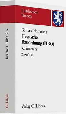 hessische bauordnung hessische bauordnung hbo kommentar hornmann b 252 cher