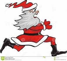 santa claus running royalty free stock image image 21890486
