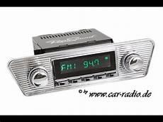 Retro Autoradios F 252 R Ihren Oldtimer Oder Youngtimer Mit