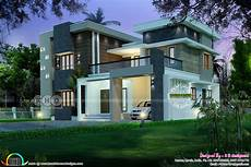 modern kerala house plans modern contemporary kerala home 2352 sq ft kerala home