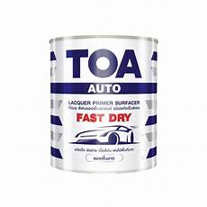 toa lacquer primer surfacer product details