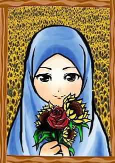 Kartun Muslimah Part 2 Viral Cinta