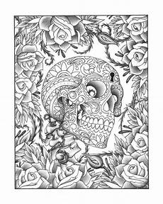 Ausmalbilder Erwachsene Totenkopf Doodle Me This On Coloring Pages Coloring