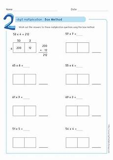 multiplication worksheets box method 4331 box method multiplication 2 digit numbers worksheets pdf multiplication worksheets partial