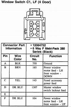 03 Silverado Mirror Wiring Diagram by I Need A Wiring Diagram For The Master Power Window