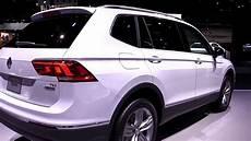 2018 volkswagen tiguan allspace pearl white exterior and