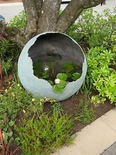 Beton Ideen Für Den Garten - beton im garten pflanzen garten ideen