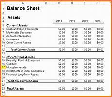 10 excel balance sheet and income statement template exceltemplates exceltemplates