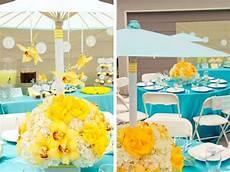decoration bapteme garcon originale decoration bapteme jaune et bleue d 233 coration de mariage
