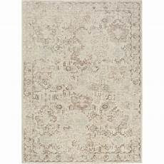 Home Dynamix Shabby Chic Pastel Palma 5 Ft 2 In X