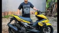 Modifikasi Motor Aerox 155 by Foto Modifikasi Yamaha Aerox 155 2018 Harianindo