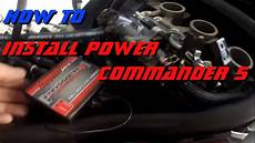 how to install a pcv power commander 5