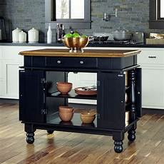 Furniture Style Kitchen Island Home Styles Furniture Americana Black Kitchen Island 5082